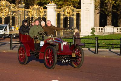 1903 - Renault 14hp Swing-seat tonneau Body