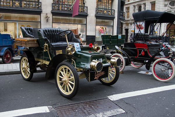 1904 Cadillac 8.25hp Rear-entrance Tonneau Body