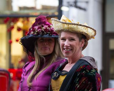 Lady's in Edwardian Costume