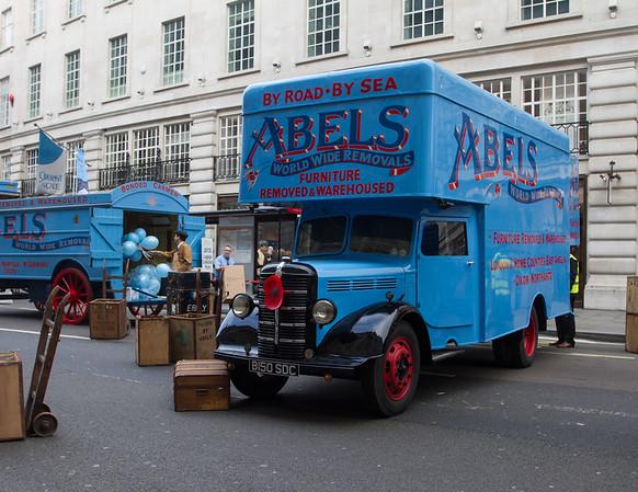Bedford Removals Van