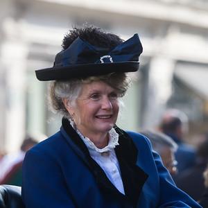 Lady in Edwardian Costume