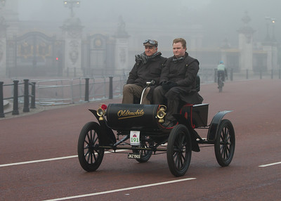 1903c - Oldsmobile 5hp Curved-dash runabout