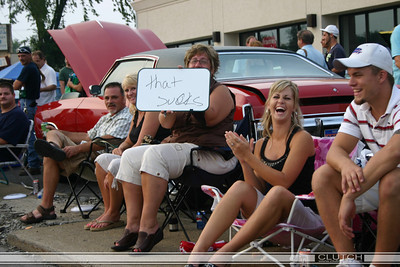 We managed to get a ticket cruising Woodward on Friday - These guys were trying to get us to do a burn out... We showed them the ticket!     That ticket proved to be VERY entertaining for the remainder of Saturday!   :)
