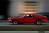 Red 1969 Mustang Fastback