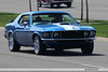 Blue 1969 Mustang Coupe