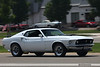 White 1969 Mustang Fastback