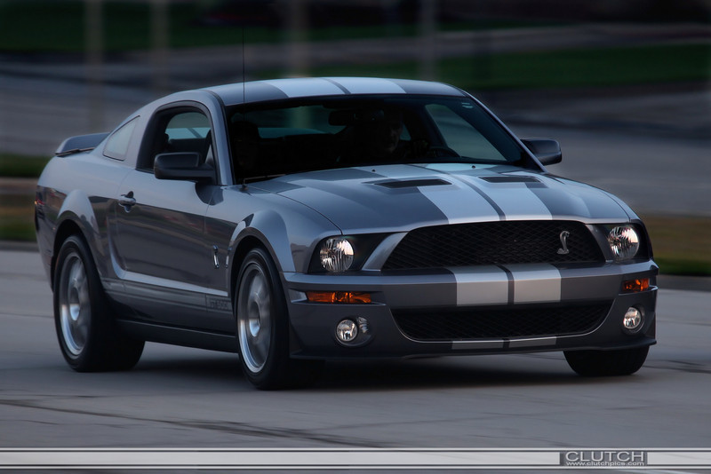 Grey 2007 Shelby GT500