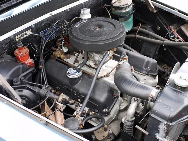 Lancia Flaminia Coupe - V6 engine