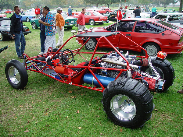 Alfa engined dune buggy