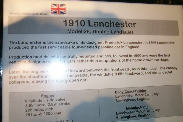 1910 Lanchester