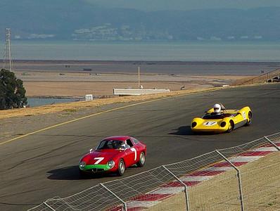 Alfa TZ & Lotus