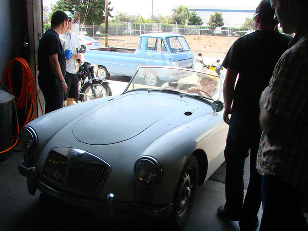 Lovely twin cam MGA