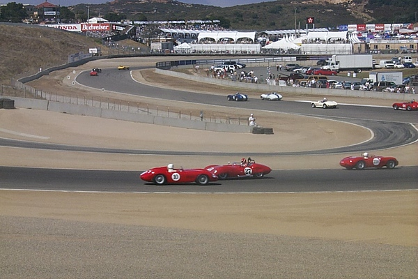Sterling Moss makes a mistake