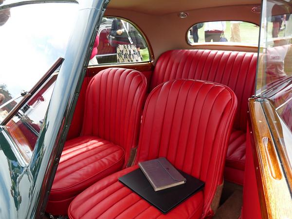 1935 Bentley 3 1/2 litre Bertelli coupe