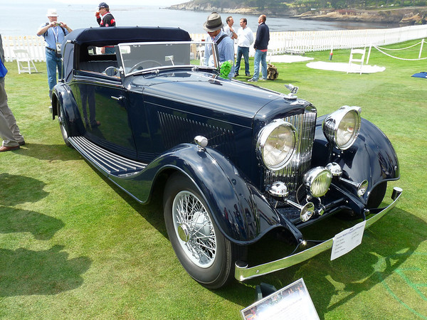 1934 Bentley 3 1/2 litre Thrupp & Maberly Drop Head Coupe