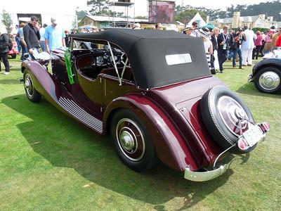 1934 Bentley 3 1/2 litre Vanden Plas Tourer