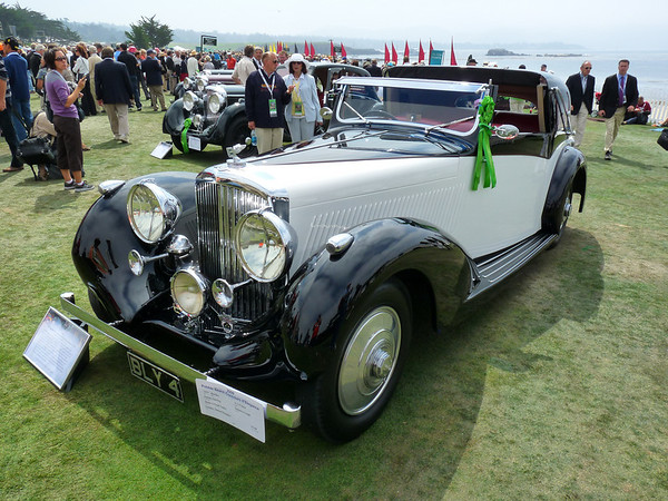 1937 Bentley 4 1/4 litre Sedanca coupe