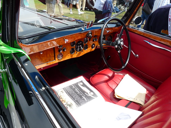 1937 Bentley 4 1/4 litre Sedanca coupe