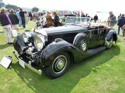 Bentley 4 1/2 litre drop head coupe