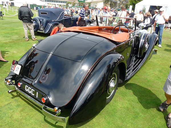 Bentley 4 1/2 litre drop head coupe