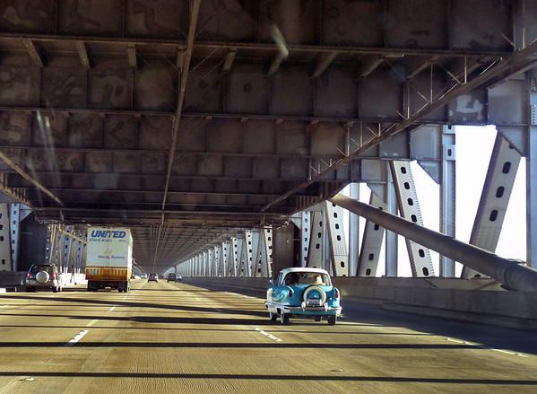 Crossing the Bay Bridge