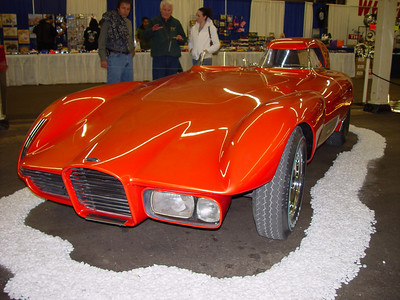 "Gene Winfield's 1960's ""Strip Star"" show car"
