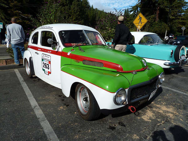 The Team Arse '58 Volvo 444 racer