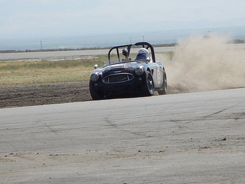 Getting off track at Buttonwillow raceway