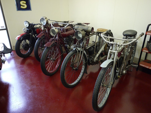 Early American motorbikes