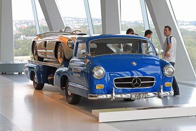 Mercedes-Benz Rennwagen Schnelltransporter, 1955.