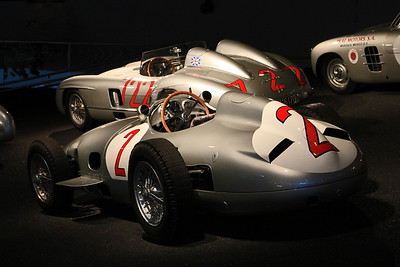 Silver Arrows - 1954 W196R and 1955 300SLR.