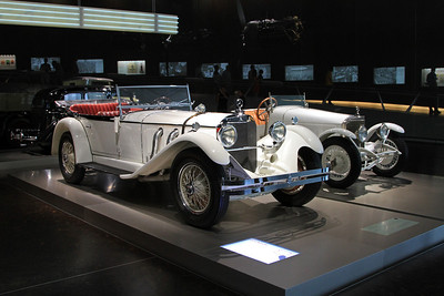 1928 Mercedes-Benz 26/120/180 Type S touring car.