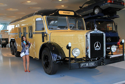 Mercedes Mobile Post Office (and enthusiast!).