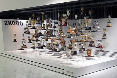 The trophy collection.