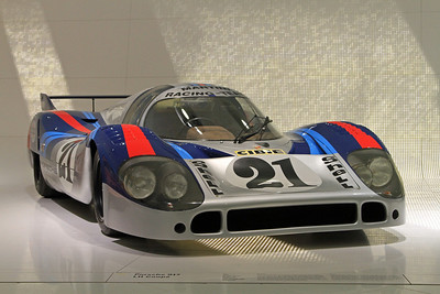 Martini Racing Porsche 917LH 4.9L from 1971.