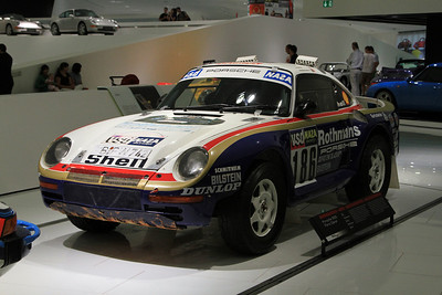 1986 Porsche 959 Paris-Dakar Winner.