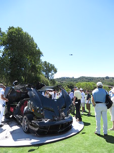 Huayra and Helicopter