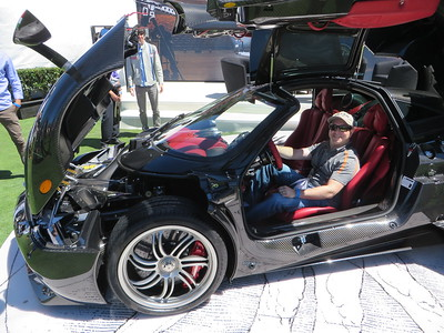 Yes....me in the Pagani...