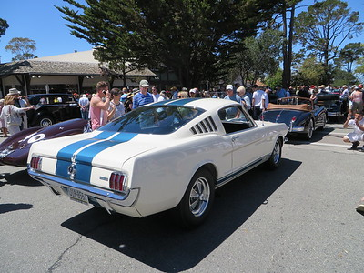 There were a number of Ford GT 350's many in the same color...