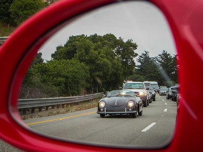Objects in mirror are part of history