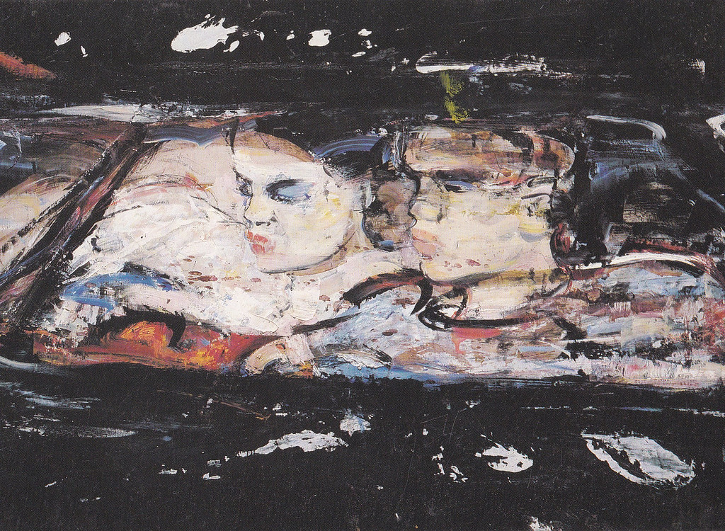 Peter McLaren, Black Top, 1991, Oil on Board, 36 x 48 inches
