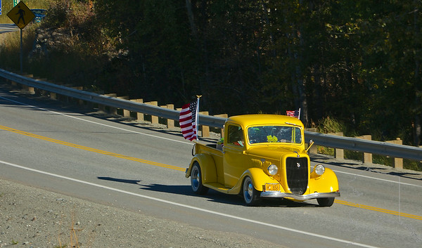 The 49th State Street Rodders and John and Suz Troutner put on the Freedom Flag Run car show. This show is put on every year since 9/11/01. It is in remembrance of all the heroes that died on that day. From the fire fights, police, the men and women on the planes and the people in the Twin Towers. This car show unites the people of Alaska on this date so no one forgets. Every body is welcome to come. Free hot dogs and burgers. See you next year!!