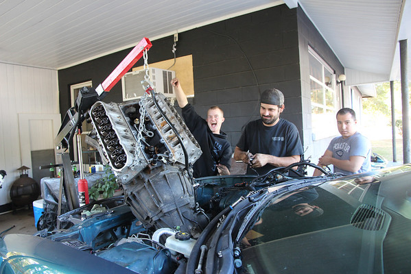 2012 12-01 Camaro Engine Swap