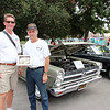 Gary Kirkpatrick and his '66 Fairlane took home an award