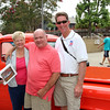 Tom Swegles, with his lady and his 1955 Chevy Truck, making Tom twice a winner