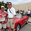 Les Troisi won a trophy with his beautiful 1962 Vette
