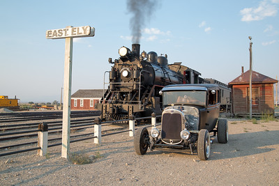 CARS AND TRAINS, ELY, NV 2018