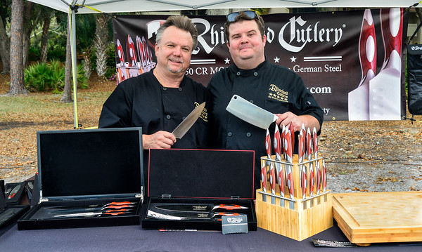 Rhineland Cutlery at the Festivals of Speed, Amelia Island, Florida. After consulting with more than 100 professional chef's worldwide, our design team has created the most balanced, ergonomic and beautiful knife ever seen. We are proud to introduce our newest line of premium cutlery, Rhineland.