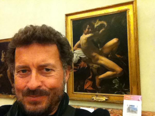 "Caravaggio: ""St. John the Baptist""<br /> Capitoline Museum, Rome 12/22/12"