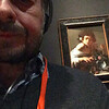 "Caravaggio: ""Boy Bitten by a Lizard"" viewed 12/27/16 at the National Gallery, London, England."